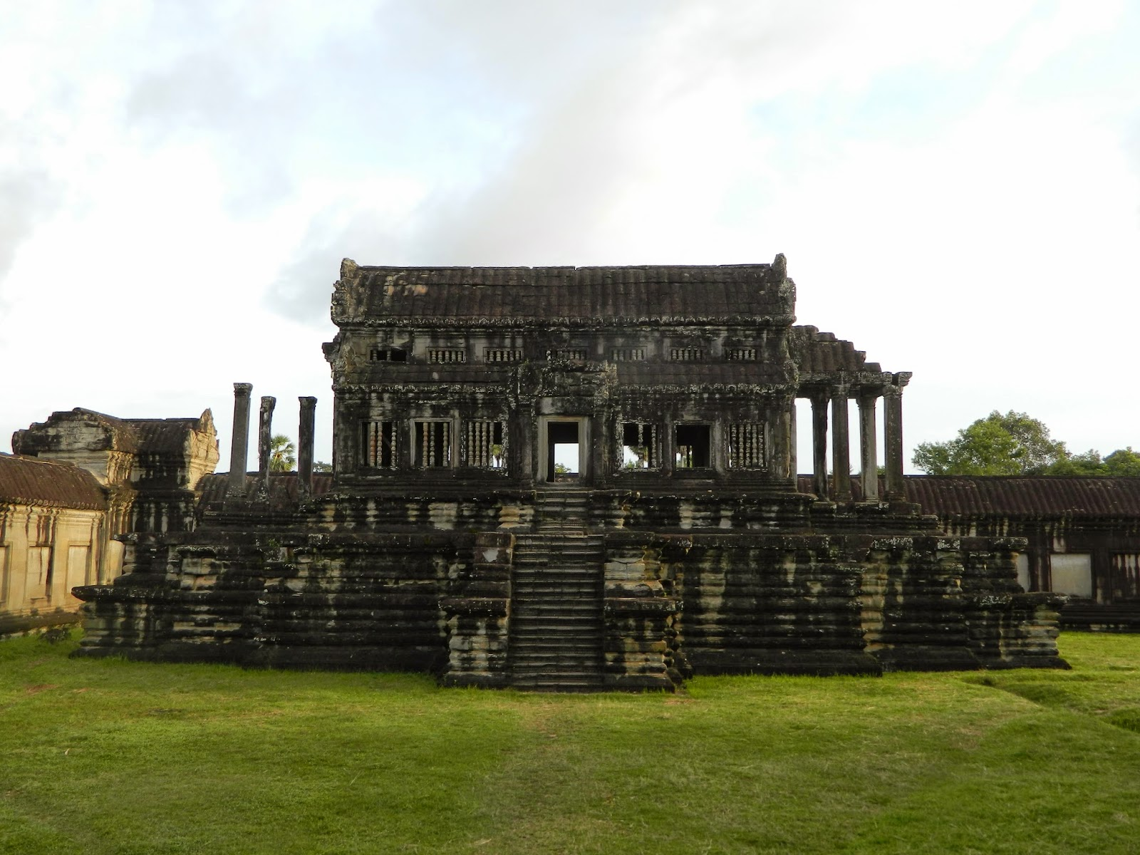 More ruins close to the Temple