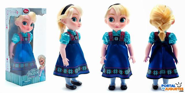 muñeca elsa coleccion disney animators