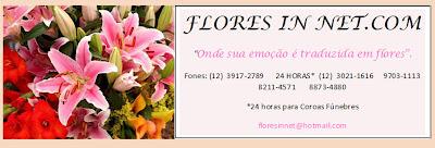 Encomenda de flores em São José dos Campos FloresInNet