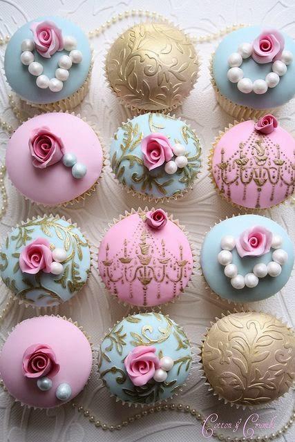 cupcakes boda barroca blog mi boda gratis candy bar