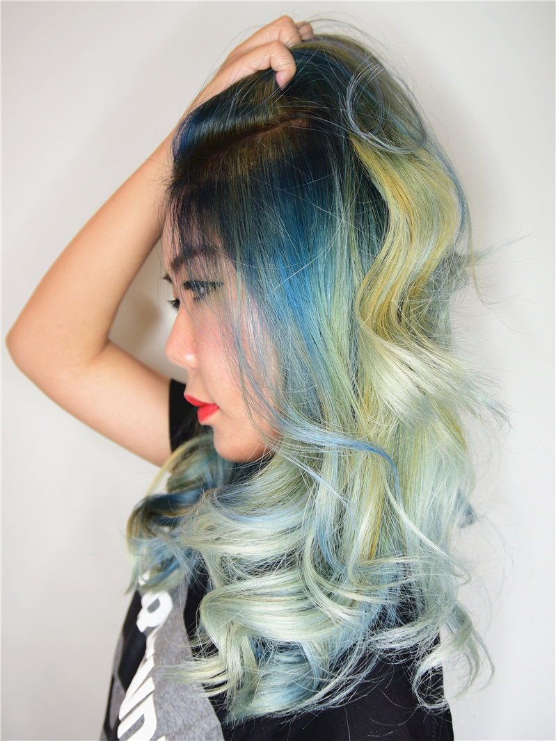 cleo hair make international singapore blogger
