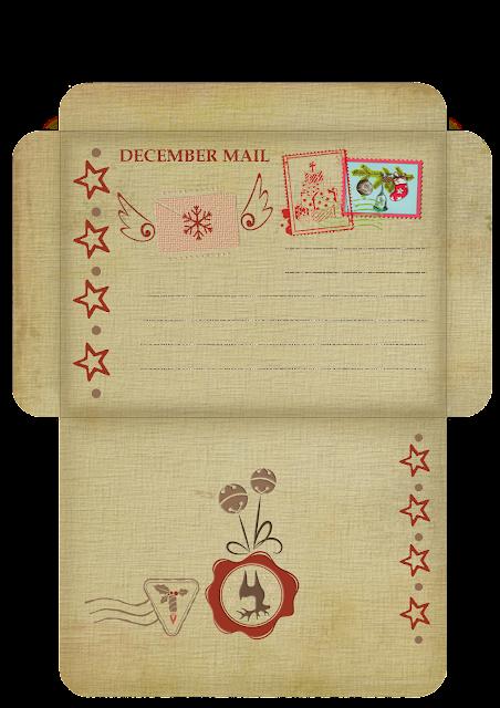 Новогодние конверты. Шаблон конверт. Скрапбукинг конверты.