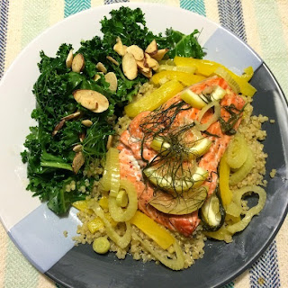 Salmon with Fennel and Lemon