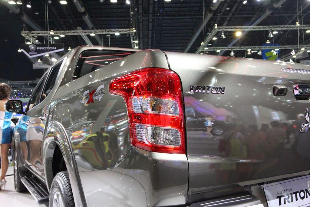 Thailand Motor Expo 2014: 2015 Mitsubishi Triton/Strada Gets Face Time