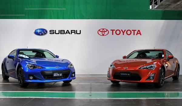 Subaru BRZ y Toyota GT 86