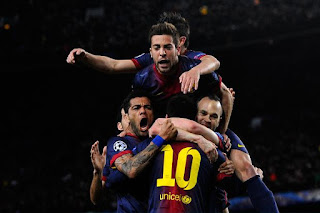 Lionel Messi spark Barcelona 4-0 win over Milan, Lionel Messi