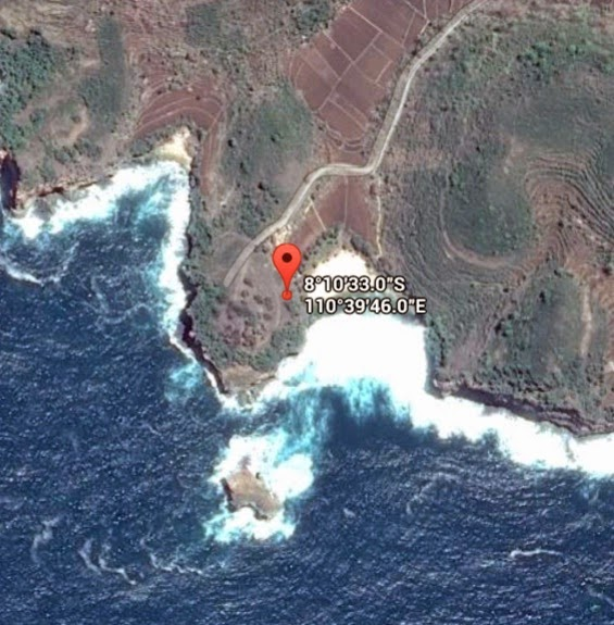 Koordinat Lokasi Pantai Timang_siparjo.com