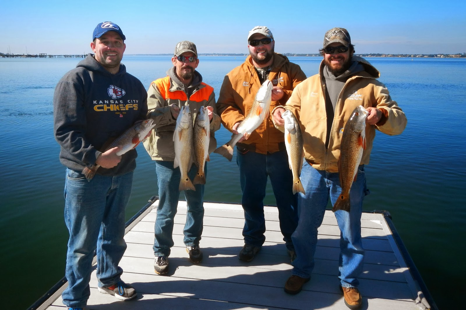 Navarre fishing reports for Fishing charters pensacola