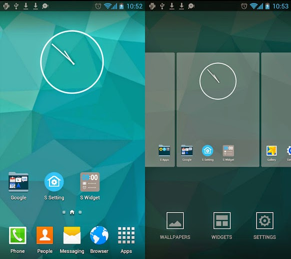 S Launcher Prime screenshot