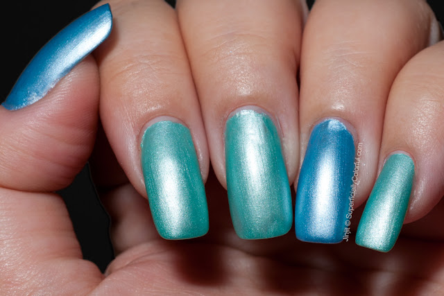 The Nail Junkie Pastels Bluebonnet Gardenia Green Goddess