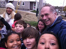 Campaign Fun...Kids Greet Their Mayor at Maywood Terrace