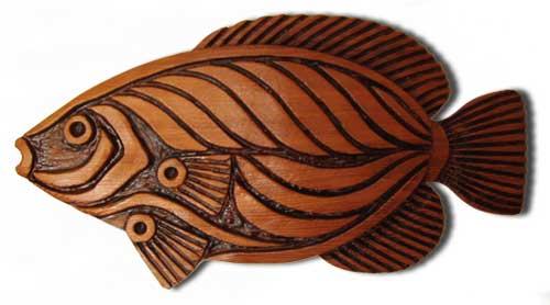 Mar vista s art first grade tropical fish clay sculptures