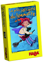 Jeu ludo-éducatif : La petite sorcière du tonnerre