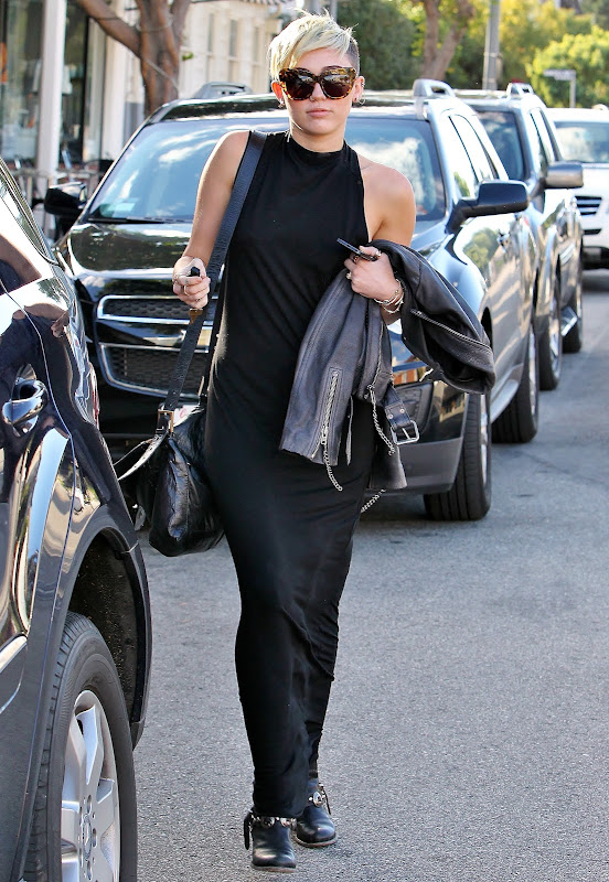 Miley Cyrus out and about in LA