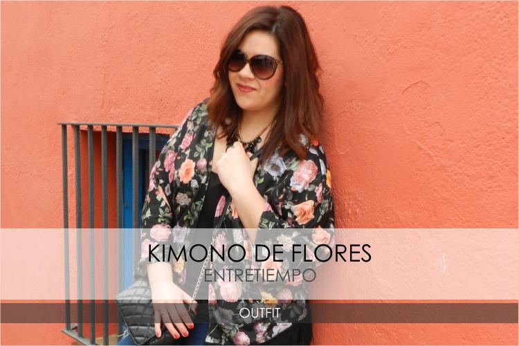 Kimono de Flores · Outfit