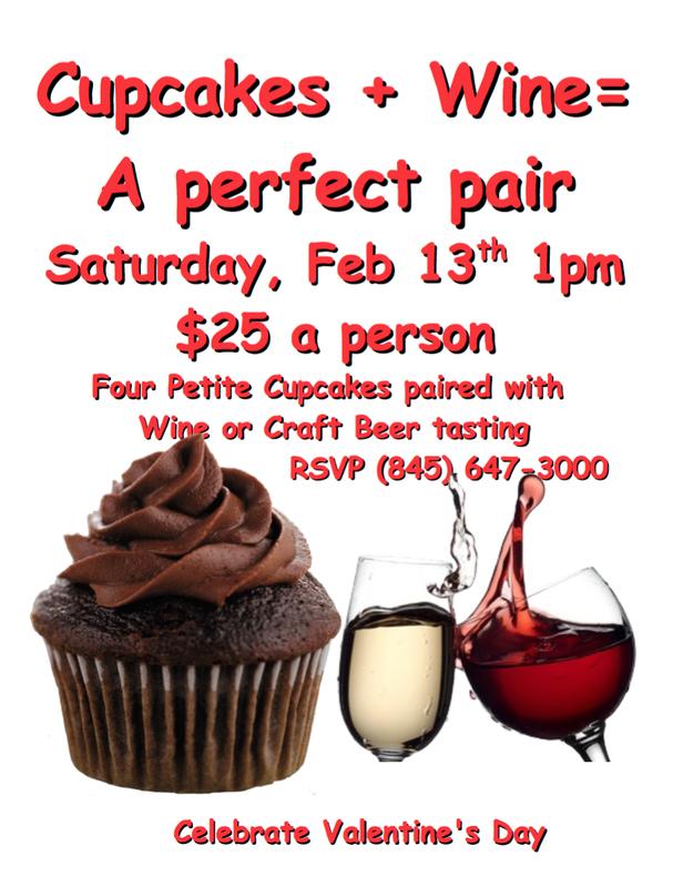 Aroma Thyme's Cupcake & Wine Valentine's Day Pairing