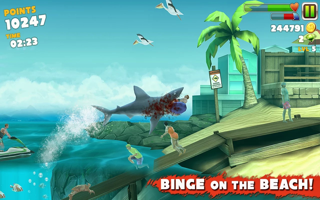 Hungry Shark Evolution Apk İndir