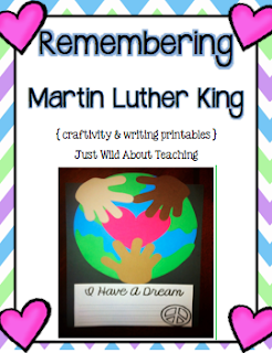 http://www.teacherspayteachers.com/Product/Remembering-Martin-Luther-King-Craftivity-Packet--465641
