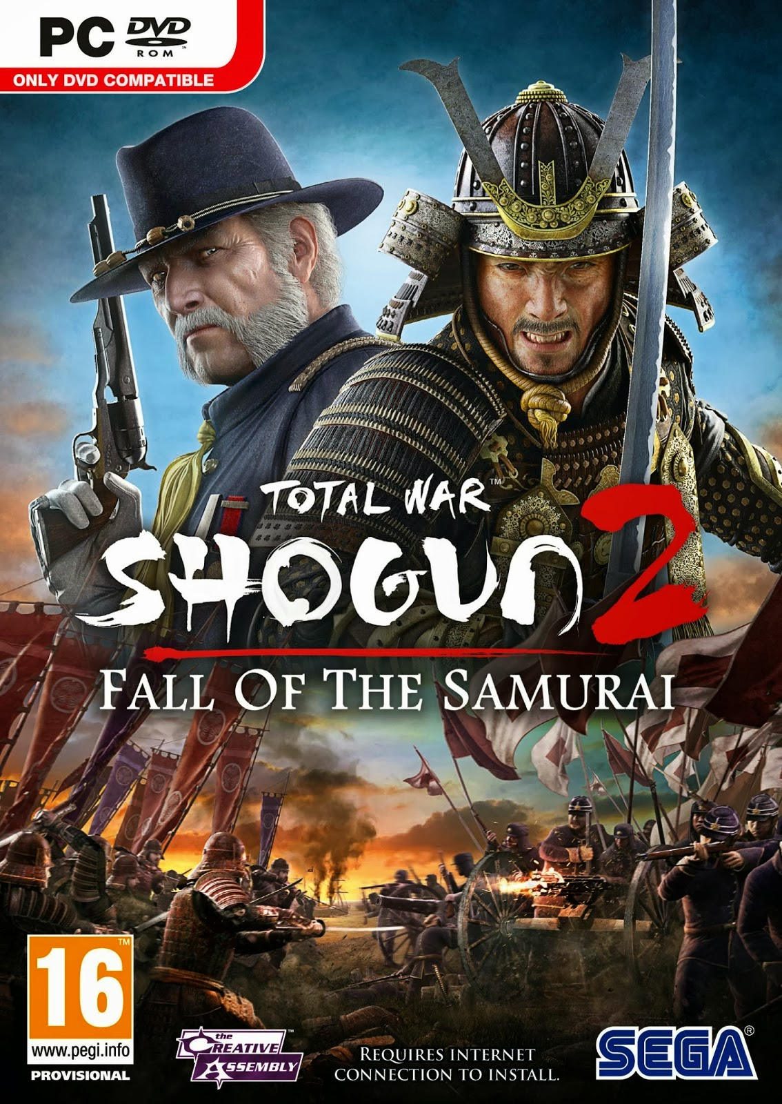 Game Total War Shogun 2 : Fall Of The Samurai