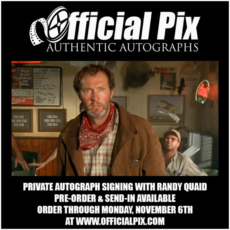 Randy Quaid Private Signing with Official Pix!