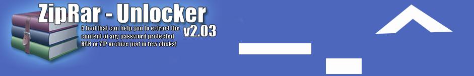 ~ZipRAR Unlocker v2.03~