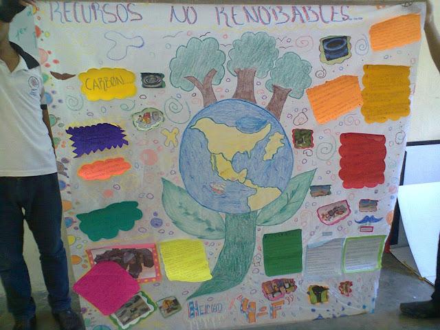 Nuestro ecosistema ambiental periodico mural de recursos for Cuanto cobrar por pintar un mural