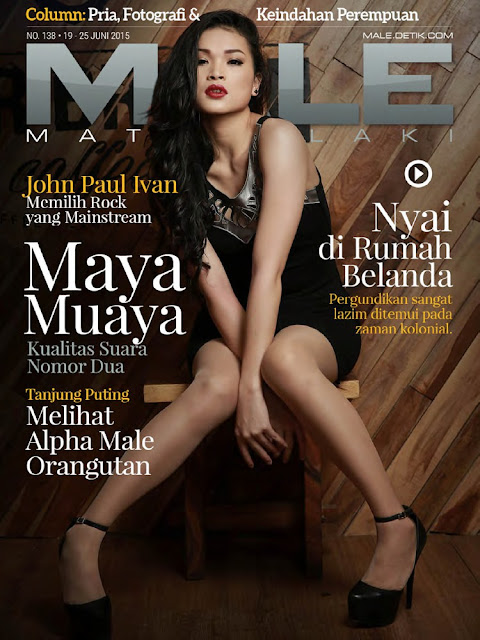 Model @ Maya Muaya - Male Indonesia, June 2015