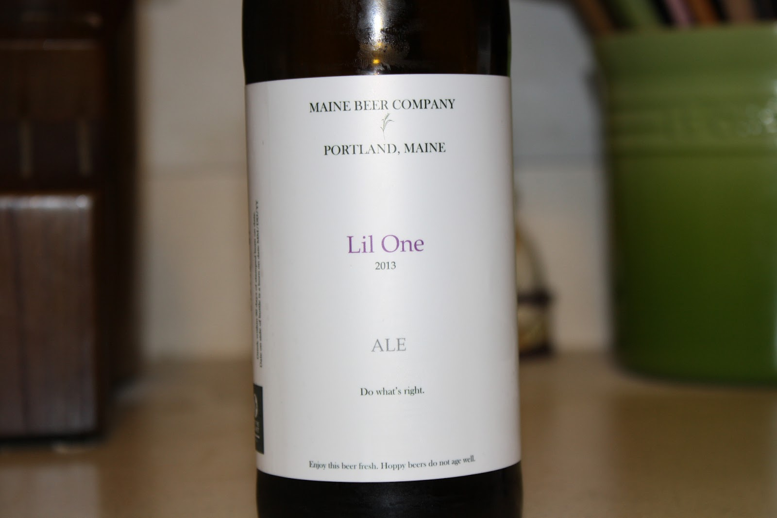 Maine Beer Company Lil One