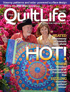 QuiltLife Magazine August 2012