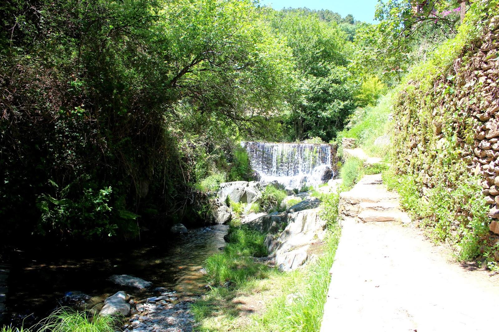 Río Árrago en Robledillo de Gata (Cäceres)
