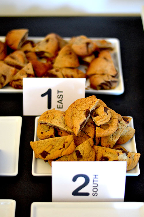 cookie tasting table