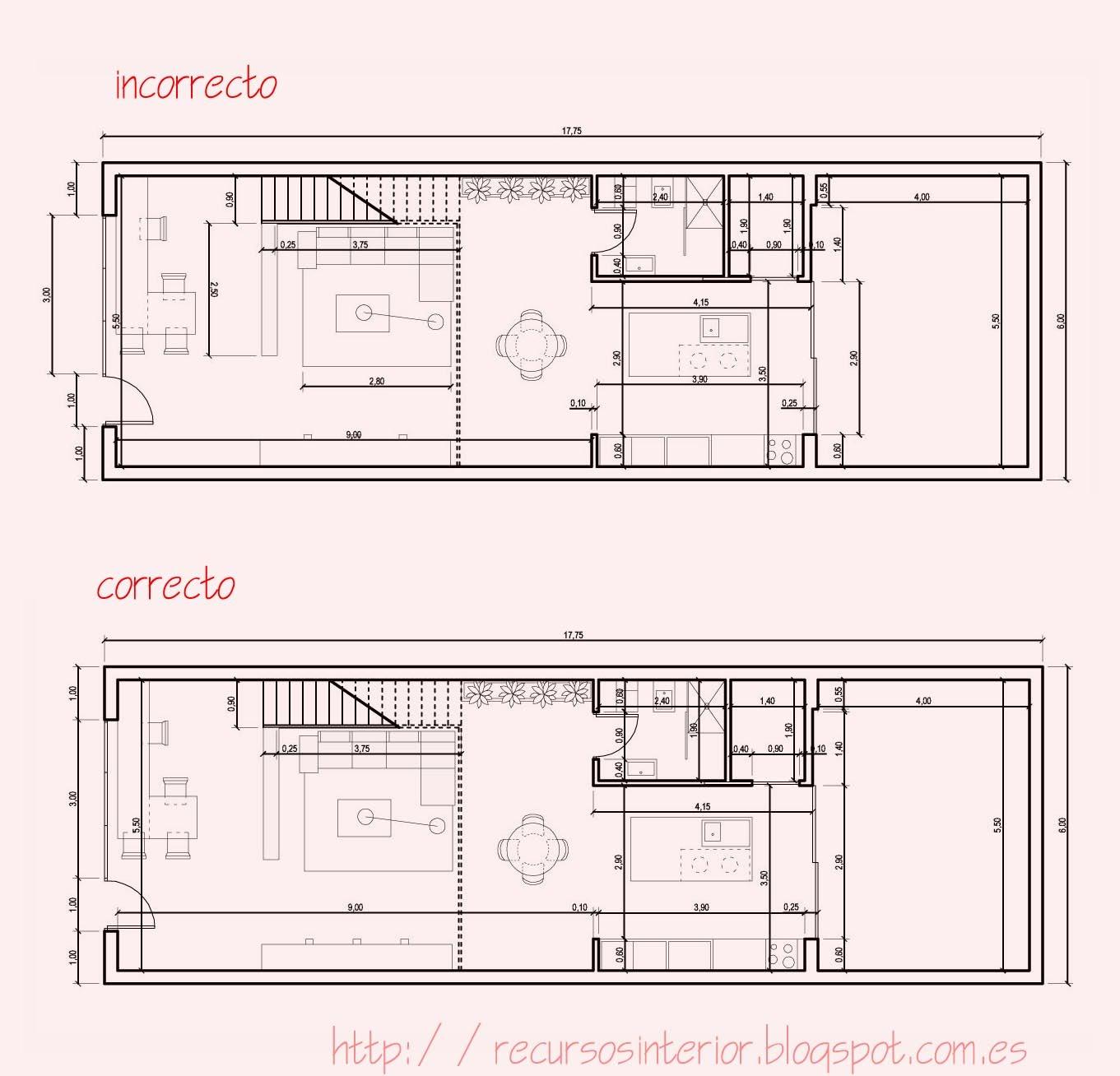 Acotar correctamente en autocad recursos interior for Clasificacion de los planos arquitectonicos
