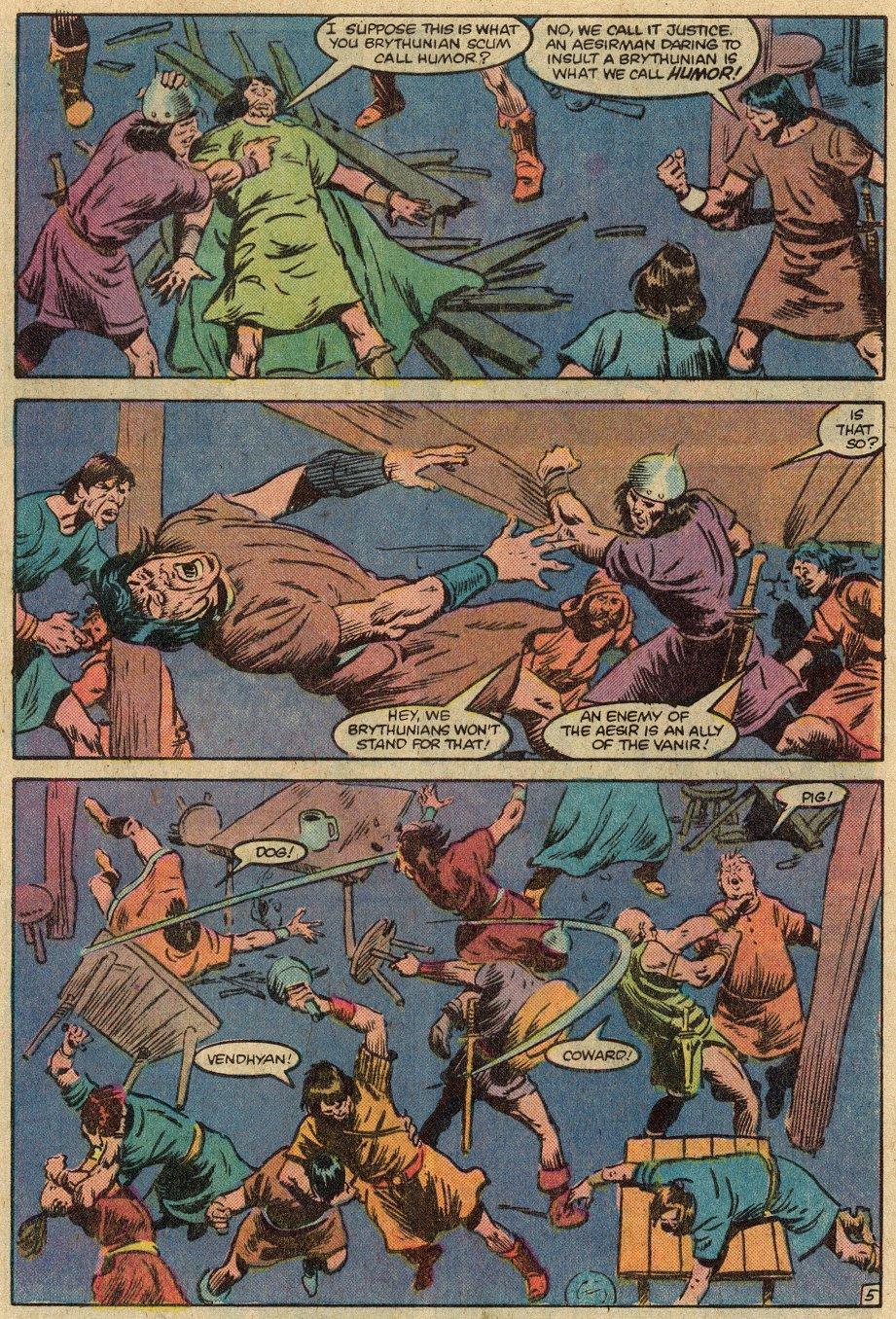Conan the Barbarian (1970) Issue #146 #158 - English 8