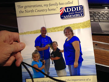 Addie Russell in my Mail Box Today as Incumbent Struggles With Tough Race