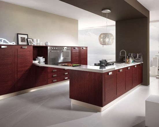 Desain dapur contemporary
