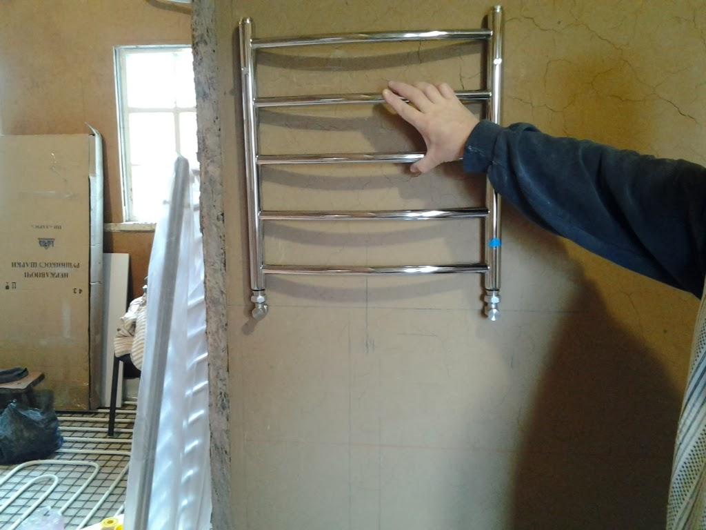 Устанавливаем полотенцесушитель своими руками 735