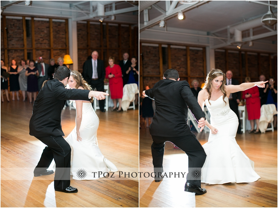 fun wedding first dance