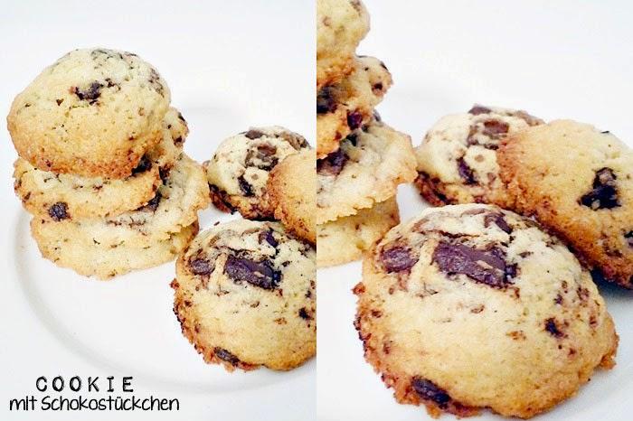 Cookie mit Schokostückchen