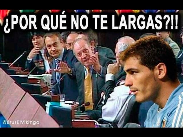 Iker Casillas: Humor, cachondeo, bromas, chorradas, whatsapp, chistes, guasa y memes. Keylor Navas, Sara Carbonero, Arbeloa, Del Bosque y Ancelotti.