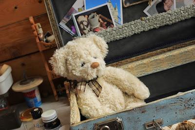 винтажный чемодан купить, чемодан купить, чемодан мк, мишка тедди, свадьба в винтажном стиле