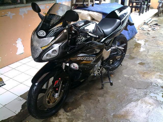 Contoh Modifikasi Suzuki Thunder 125 CC