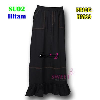 Skirt_labuh_SU02Hitam