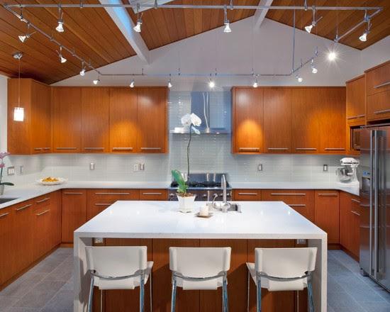 Desain dapur kontemporer
