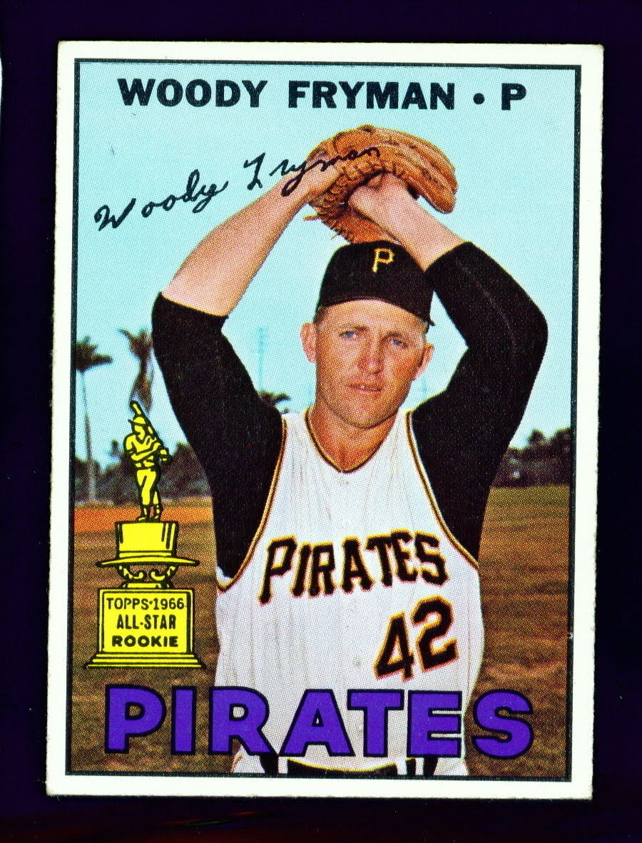 Woody Fryman 1966-1967 (1967 baseball card)