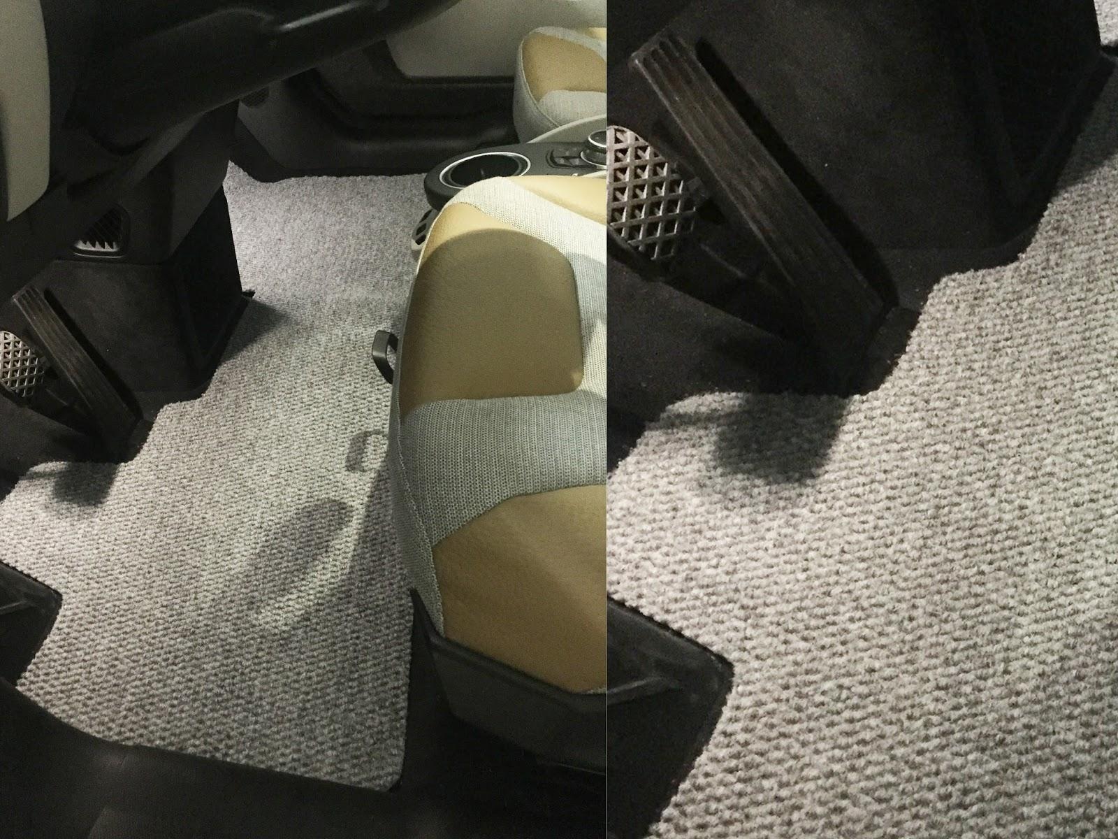 bmw i3 - $16 diy stain resistant custom floor mats | toolsandrags