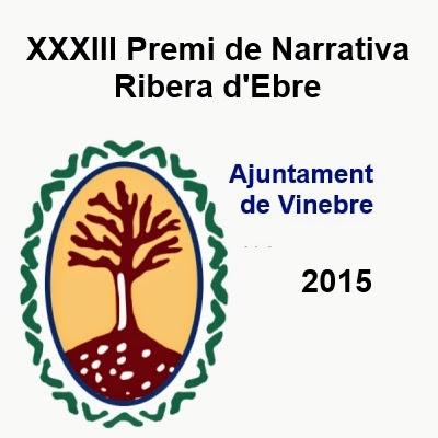 'XXXIIIè Premi de Narrativa Ribera d'Ebre'