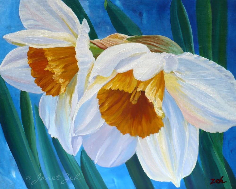 Daffodils fine art print