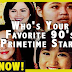 POLL: Who's Your Favorite 90's Primetime Star? Vote Now!
