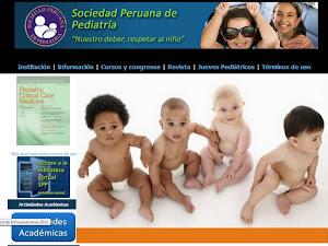 SOCIEDAD PERUANA DE PEDIATRÍA :