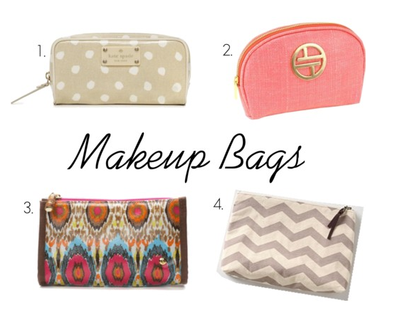 kate spade makeup bag. Fun Makeup Bags for Summer